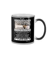 Wolf Husband Love Made Us Forever Together  Color Changing Mug thumbnail