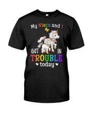 My niece and I got in trouble today Classic T-Shirt thumbnail