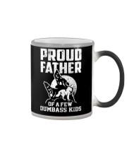 Proud Dad Of Dumbass Kids Color Changing Mug thumbnail