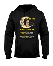 Goldendoodle Son Mom Mommy Loves You Hooded Sweatshirt thumbnail