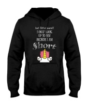 Unicorn I Am Short T-shirt Hooded Sweatshirt thumbnail