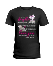 I love you for the rest of mine Elephant Daughters Ladies T-Shirt thumbnail