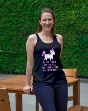 Unicorn You Should See My Husband Ladies Flowy Tank lifestyle-bellaflowy-tank-front-1