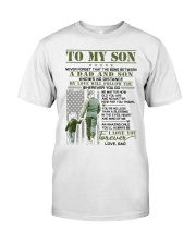 Veteran The Bond Between Son Classic T-Shirt thumbnail
