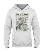 Veteran The Bond Between Son Hooded Sweatshirt thumbnail
