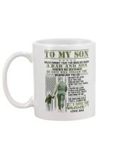Veteran The Bond Between Son Mug back