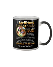 Turn Back The Clock See Yourself Through Eyes Color Changing Mug tile