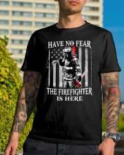 Firefighter Have no fear Classic T-Shirt lifestyle-mens-crewneck-front-8