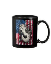American Flag Horse  Mug thumbnail