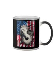American Flag Horse  Color Changing Mug thumbnail