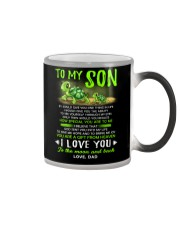 Turtle Son Dad Clock Ability Moon Color Changing Mug thumbnail