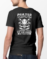 Prayer is the best way to meet the lord Classic T-Shirt lifestyle-mens-crewneck-back-5