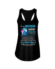 Shark Girlfriend Clock Ability Moon Ladies Flowy Tank thumbnail