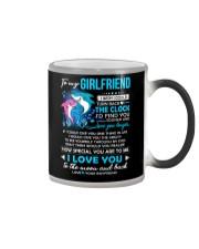 Shark Girlfriend Clock Ability Moon Color Changing Mug thumbnail