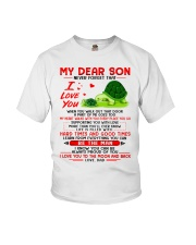Turtle Walk Out That Door Son Youth T-Shirt thumbnail