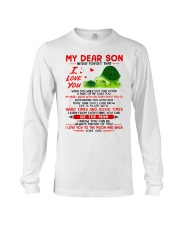 Turtle Walk Out That Door Son Long Sleeve Tee thumbnail