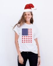 Chicken Flag Shirt Classic T-Shirt lifestyle-holiday-crewneck-front-1