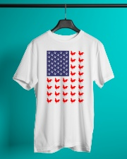 Chicken Flag Shirt Classic T-Shirt lifestyle-mens-crewneck-front-3