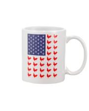 Chicken Flag Shirt Mug thumbnail