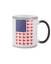 Chicken Flag Shirt Color Changing Mug thumbnail