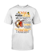 Butterfly Wife Clock Ability Moon Classic T-Shirt thumbnail