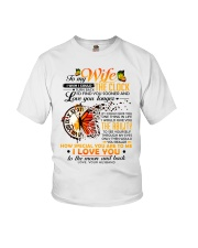 Butterfly Wife Clock Ability Moon Youth T-Shirt thumbnail