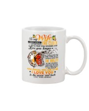 Butterfly Wife Clock Ability Moon Mug front