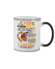 Butterfly Wife Clock Ability Moon Color Changing Mug thumbnail