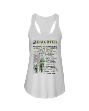Veteran The Bond Between Daughter Mom Ladies Flowy Tank thumbnail