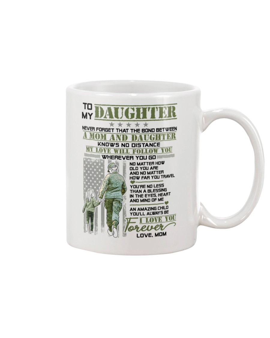 Veteran The Bond Between Daughter Mom Mug