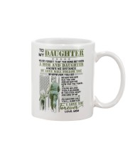 Veteran The Bond Between Daughter Mom Mug thumbnail
