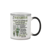 Veteran The Bond Between Daughter Mom Color Changing Mug thumbnail