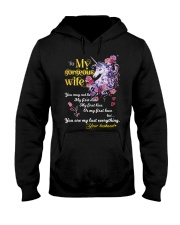 To My Gorgeous Unicorn Wife Hooded Sweatshirt thumbnail