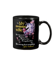 To My Gorgeous Unicorn Wife Mug front