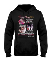 Wolf To My Daughter Dad  Hooded Sweatshirt thumbnail