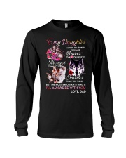 Wolf To My Daughter Dad  Long Sleeve Tee thumbnail