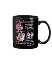 Wolf To My Daughter Dad  Mug front