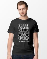 Sorry I'm Late Viking Classic T-Shirt lifestyle-mens-crewneck-front-15