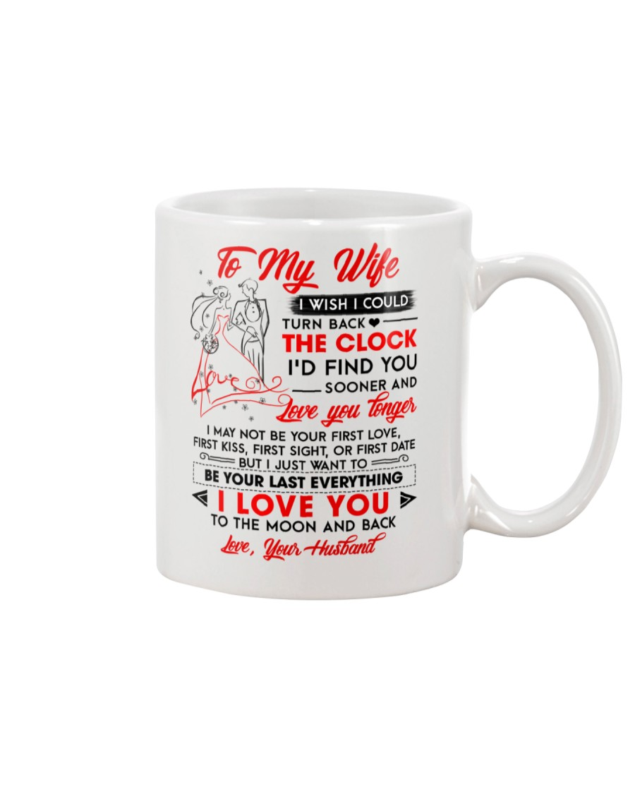 Family Wife Clock Everything Moon Mug
