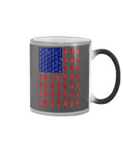 Fishing American flag shirt Color Changing Mug thumbnail