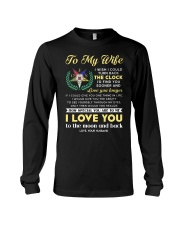 Freemason Wife Clock Ability Moon Long Sleeve Tee thumbnail