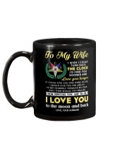 Freemason Wife Clock Ability Moon Mug back