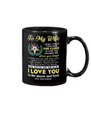 Freemason Wife Clock Ability Moon Mug front