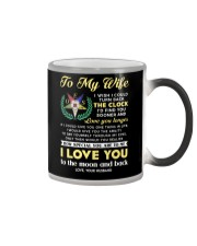 Freemason Wife Clock Ability Moon Color Changing Mug thumbnail