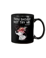 Thou Should Not Try Me Elephant  Mug thumbnail