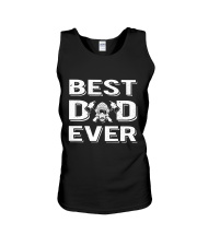 Best Firefighter Dad Ever  Unisex Tank thumbnail