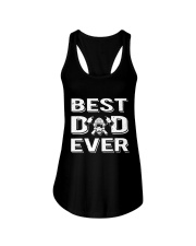Best Firefighter Dad Ever  Ladies Flowy Tank thumbnail