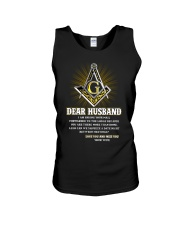 Freemason Dear Husband Mail Fowarded Unisex Tank thumbnail