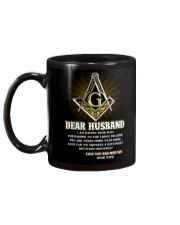 Freemason Dear Husband Mail Fowarded Mug back