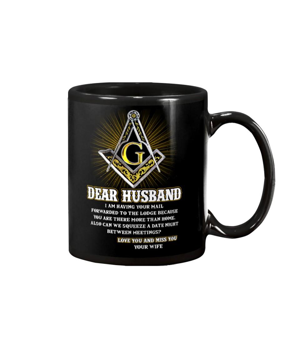 Freemason Dear Husband Mail Fowarded Mug